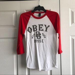 Obey Baseball Tee